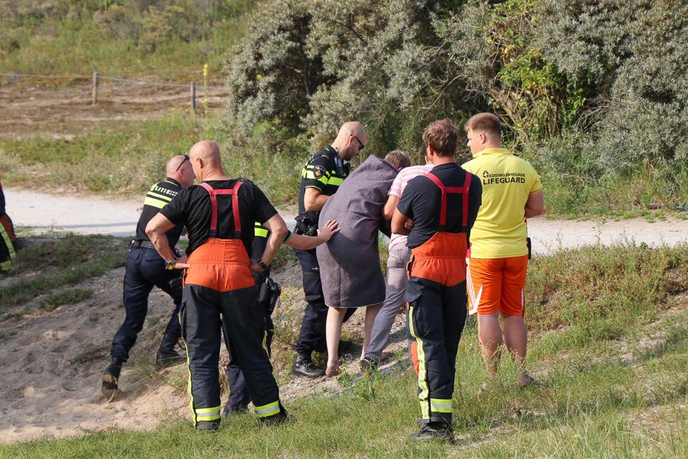 verwarde man uit water gehaald katwijk nieuws actueel rijnsburg