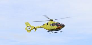 traumahelikopter in de lucht katwijk nieuws actueel rijnsburg